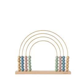 Hübscher Abakus, Rechenschieber, Regenbogen, aus Holz, von OYOY