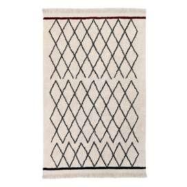 Teppich  Bereber Crisscross , 140 x 210 cm, waschbar, Lorena Canals