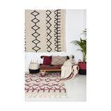 Teppich  Bereber Canvas , 140 x 200 cm, waschbar, Lorena Canals