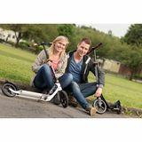 Scooter  BigWheel Style 230 , weiß, Aluminium, für Jugendliche und Erwachsene, von Hudora