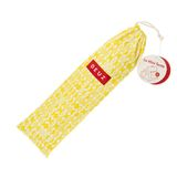 Mini Zelt  gelbe Blätter , 38 x 50 x 38, aus Bio Baumwolle, von Deuz