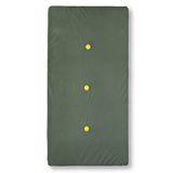Hochwertige Spielmatte  meet the forest , handmade in Holland, 160 x 80 cm, aus Samt, in dunklem olivgrün, ByAlex