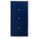 Hochwertige Spielmatte  see you at midnight , handmade in Holland, 90 x 51 cm, aus Samt, in dunkelblau, ByAlex