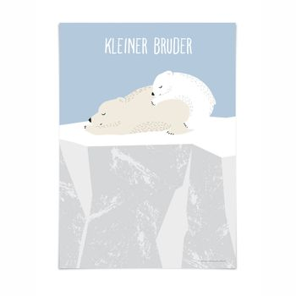 Kinderposter  Kleiner Bruder , A3, von 54 illustration