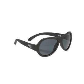 Coole UV Sonnenbrille,  Aviators , in schwarz, für Babys und Kleinkinder, in zwei Größen, von Babiators