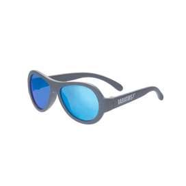 Coole UV Sonnenbrille,  Aviators , in  blue steel , für Babys und Kleinkinder, in zwei Größen, von Babiators