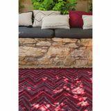 Teppich  Earth Savannah Red , 170 x 240 cm, waschbar, 100% Baumwolle Lorena Canals