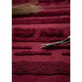Teppich  Air Savannah Red , 140 x 200 cm oder 170 x 240 cm, 100% Baumwolle, waschbar, Lorena Canals