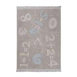 Kinderteppich  Baby Numbers , 120 x 160 cm, waschbar, 100% Baumwolle, Lorena Canals
