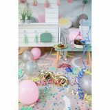 Kinderteppich  Happy Party , aus der Oh Joy! Kollektion, 140 x 200 cm, waschbar, 100% Baumwolle, Lorena Canals
