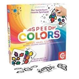 Merk- und Aktivitätsspiel  Speed Colors - Merken, Malen, Punkten , ab 5 Jahren, von Game Factory