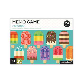 Lustiges Lernspiel  Ice Cream , Memory, von Petit Collage