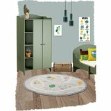 """Hochwertiger Kinderteppich """"little garden"""", 100% Baumwolle, 120 cm,von Nattiot"""