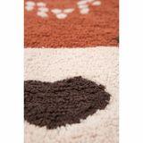 Kinderteppich, Little Wolf, 100% Baumwolle, maschinenwaschbar, 70 x 110 cm, von Nattiot