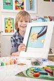 Bilderrahmen A3 für Kinderbilder, mit Aufbewahrungsfunktion, weiß, von Articulate Gallery