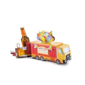 Ausgefallene Geschenkbox   Circus Truck , von Donkey