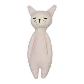 Niedliches Soft Rassel,  Bunny , 17 cm, Bio Baumwolle, von Fabelab