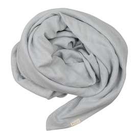 Musselintuch  Swaddle , in icy grey, 100% Bio Baumwolle, 120 x 120 cm von Fabelab