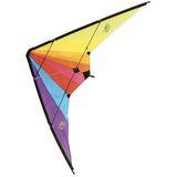 Kunterbunter Drache  Delta Kite  mit Doppellenkung, 160 cm, ab 7 Jahren, von Vilac