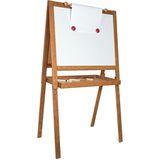 Kinder Maltafel mit Tafelseite und magnetischem Whiteboard sowie Zubehör, von Vilac