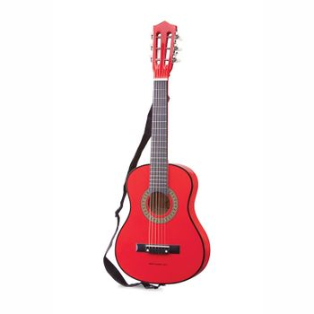 Professional Kinder Gitarre, in rot, aus Holz, von New Classic Toys