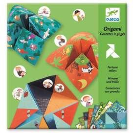 Bastelset für Kinder,  Origami , Himmel und Hölle, ab 6 Jahren, von Djeco