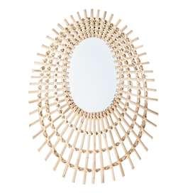 Wunderschöner Spiegel, 54 x 64 x 2 cm, von Bloomingville