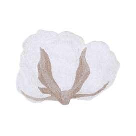 Teppich  Cotton Flower , 120 x 130 cm, waschbar, Lorena Canals