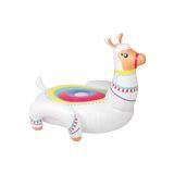 """Aufblasbares Schwimmtier, """"Luxe Llama"""", 153 x 153 x 128 cm, von Sunnylife"""