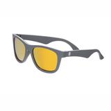 UV Sonnenbrille,  The Islander , in   grau mit orangenen Gläsern , verspiegelte Gläser, für Kinder ab 6 Jahren, Babiators