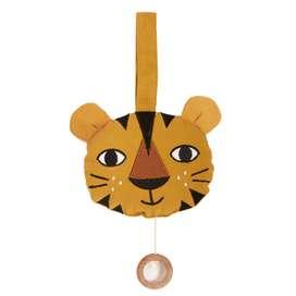 """Spieluhr, Musikmobile """"Tiger"""", ockerfarben, 14 cm, von roommate"""