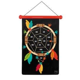 Magnetisches Dartspiel,  Indianer , groß,  von Scratch