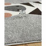 Kinderteppich Zebra  Kika , 100% Polypropylen, 120 x 170 cm, von Nattiot