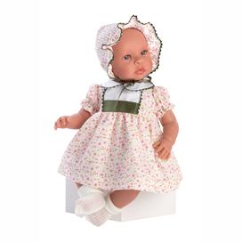 Zauberhafte Babypuppe  Leo Girl , 46 cm, Stoffkörper, mit Kleidchen von Asi Dolls