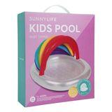 Aufblasbarer Kids Pool  Regenbogen , 100 x 115 x 115 cm, von Sunnylife