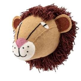 Wandgestaltung im Kinderzimmer, Löwe aus Wolle, von Bloomingville