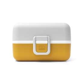 Moderne Kinder Lunchbox Bento Box  MB Tresor Moutarde , senfgelb, von monbento