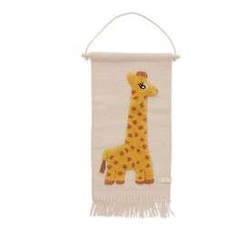 Wanddekoration, Wandbehang  Giraffe , 70 x 32 cm, von OYOY