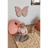 Sitzsack, Pouf, Kord, in rosa, 70 x 60 cm, aus Baumwolle, von OYOY