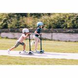 Cooles Kickboard Roller, Highwaykick3 LED, ash, ab 3 Jahren, von Scoot and Ride