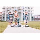 Kinder Helm, steel, einstellbar XXS bis S, für Kinder KU von 45 bis 51 cm, Scoot and Ride