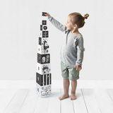 10 Stapelwürfel  Zahlen und Tiere , stabilder Karton, von wee gallery