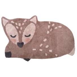 Kinderteppich, Little Deer, 100% Baumwolle, maschinenwaschbar, 70 x 110 cm, von Nattiot