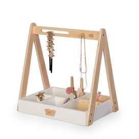 Tolle Schmuckaufbewahrung Schmuckständer für Kinder, aus Holz,  von By Astrup