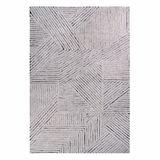 Teppich  Black Chia , 170 x 240 cm, waschbar, 100% Wolle, Lorena Canals