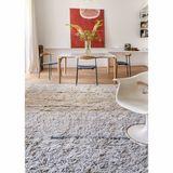 XL Teppich  autumn breeze , 200 x 300 cm, maschinenwaschbar, in natural sandstone, 100% Wolle, Lorena Canals