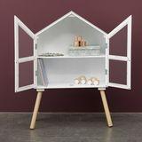 Wunderschönes, schlichtes Puppenhaus oder Vitrinenschrank  Dream House , bruchsicher, von By Astrup