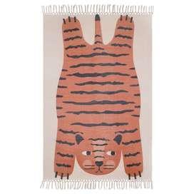 """Tiger Teppich """"Dajala"""", 100% Baumwolle, 110 x 170 cm, von Nattiot"""