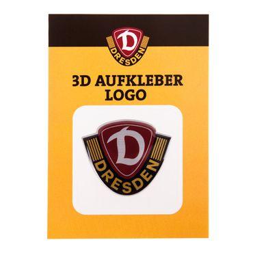 Aufkleber 3D Logo