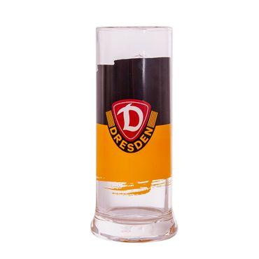 Bierseidel schwarz-gelb 0,5l
